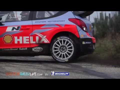 Neuville testing - 2015 WRC Rallye Monte-Carlo - Best-of-RallyLive.com