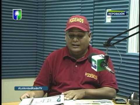 Entrevista a Aldimiro González en La Verdad en Radio Tv