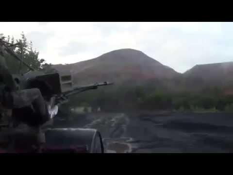 ДОНЕЦК СЕГОДНЯ.  В Донецке гремят залпы орудий и взрывы