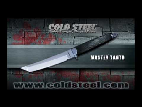 "Cold Steel Magnum Tanto IX Fixed Blade Knife (9"" San Mai III) 13MBIX"