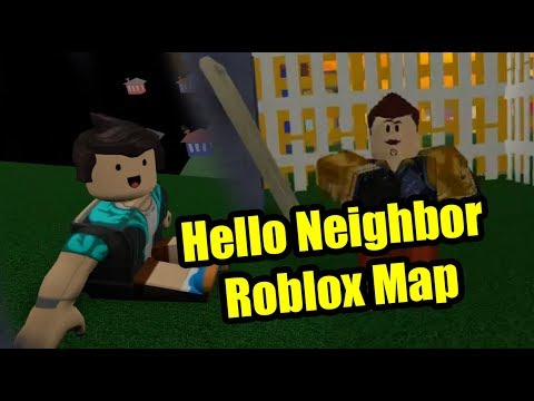 Hello Neighbor Roblox The Neighbor Full Game (видео)