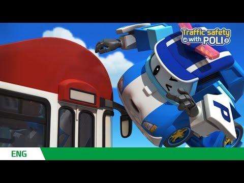 🚥Traffic safety with POLI | EP 13 - 16 | Robocar POLI | Kids animation
