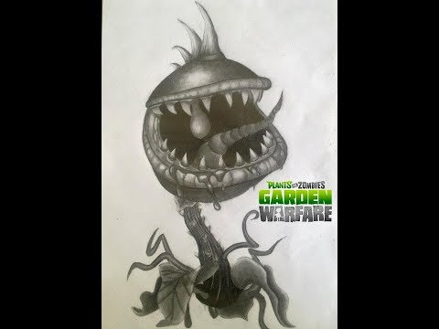 how to draw pvz garden warfare