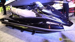 10. 2015 Yamaha VX Deluxe WaveRunner Jet Ski - Walkaround - 2015 Montreal Boat Show