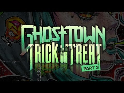 """""""Trick or Treat Part 2″ by Ghost Town Speed Painting Cover Art"""