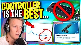 Pros Switching to Controller! Fortnite is Making a COMEBACK -- Drum SHOTTY is Here!