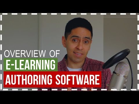 An Overview of E Learning Authoring Software