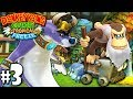 Donkey Kong Country Tropical Freeze: Co-Op Cranky Boss Bop PART 3 Wii U HD Gameplay Walkthrough Coop