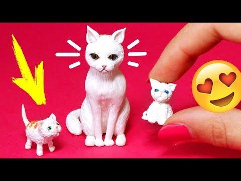 Как сделать куклу котенка
