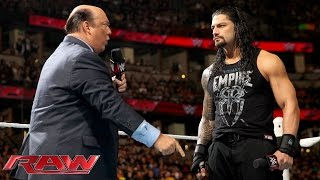 Nonton Paul Heyman Reminds Roman Reigns What S Really At Stake At Wwe Fastlane  Raw  February 15  2016 Film Subtitle Indonesia Streaming Movie Download