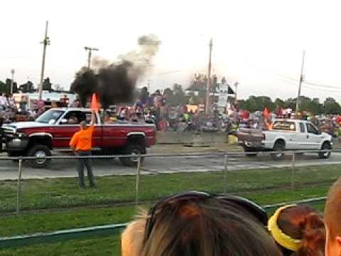 Ford vs. Dodge tug-of-war battle