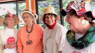The Salt Spring Raging Grannies: Harperman September 15, 2015