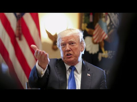 Trump denies making