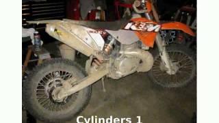 6. 2006 KTM XC 300 W Details, Info