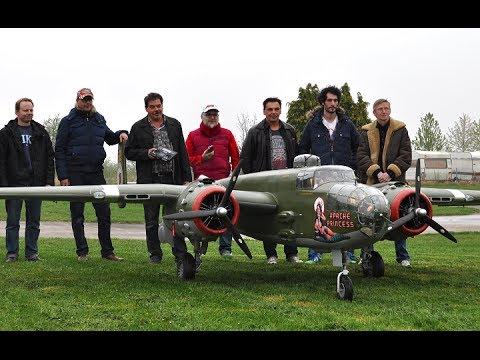 "B-25 ""Apache Princess""  Abnahmeflug..."