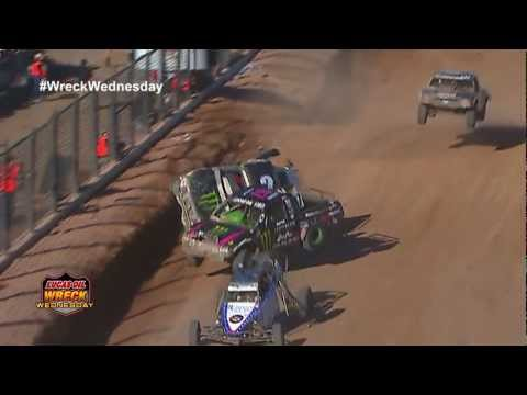 2 Off Road Trucks Colide in the air at the 2012 Lucas Oil Challenge Cup - WW #6