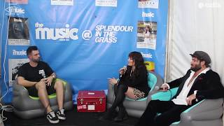 The Music Podcast @ Splendour In The Grass 2018: Amy Shark | Angus & Julia Stone