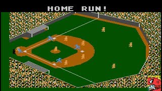 Star League Baseball [Point Difference] (Atari 400/800/XL/XE Emulated) by ILLSeaBass