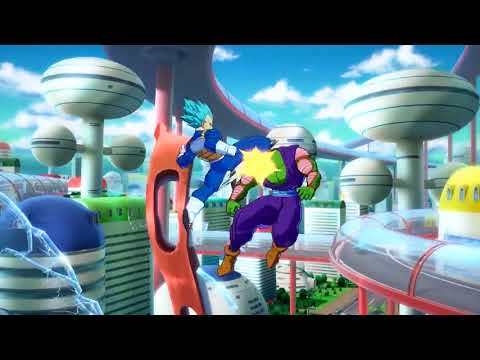 DRAGON BALL FighterZ Super Saiyan Blue Goku Vs Vegeta Gameplay Trailer  de Dragon Ball FighterZ