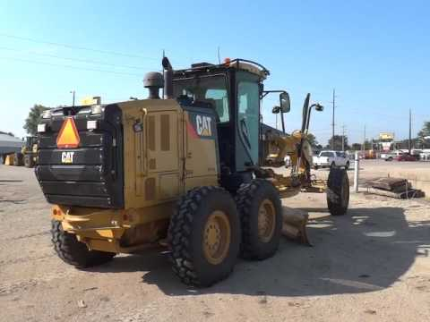 CATERPILLAR MOTOR GRADERS 140M2 equipment video -bH4EUnFObg
