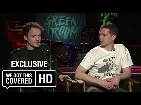 Exclusive Interview: Anton Yelchin And Jeremy Saulnier Talk Green Room [HD]