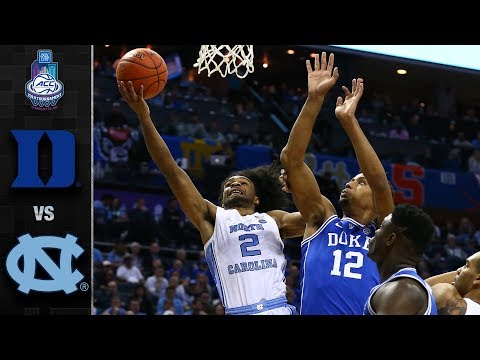 Duke vs. North Carolina ACC Basketball Tournament Highlights (2019)