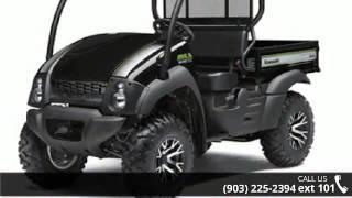 8. 2016 Kawasaki Mule 610 4x4 XC SE  - Sherman Powersports -...