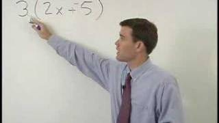 The Distributive Property - MathHelp.com - Algebra Help