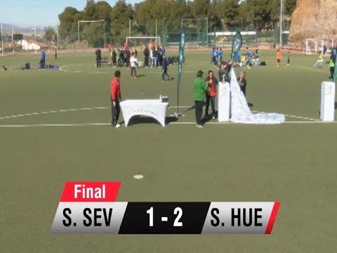 Resumen final Huelva vs Sevilla Campeonato de Andalucía de selecciones provinciales femeninas