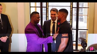Anthony Joshua vs Dillian Whyte press conference