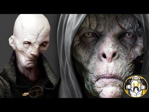 Snoke's Identity Revealed in New Star Wars Books?