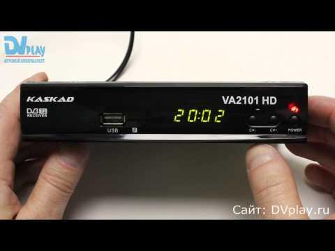 Kaskad VA2101HD - обзор цифрового ресивера
