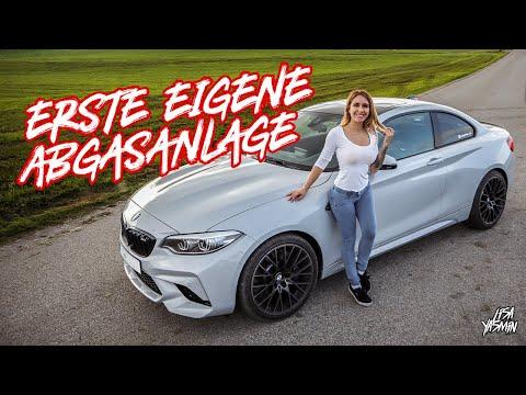 Mehr Sound für den BMW M2 Competition - Unsere eigene Abgasanlage ist fertig   Lisa Yasmin