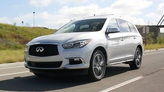The QX60 offers luxury crossover buyers all the style, comfort and power for which Infiniti is known, then tops it off with impressive safety technology, a sumptuous interior and plenty of room for seven passengers. For the latest Infiniti QX60 pricing and information:https://www.kbb.com/infiniti/qx60/2017/Kelley Blue Book is your source for new car reviews, auto show coverage, features, and comparison tests. Subscribe to catch all the latest Kelley Blue Book videos. http://www.youtube.com/subscription_center?add_user=kbb