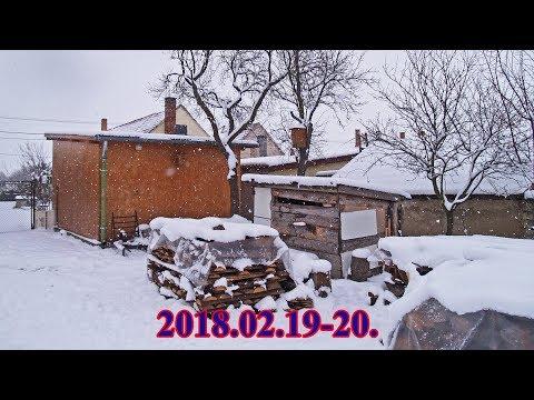 -2018.02.19-20.-Havazás-Snowfall-_Időjárás. Vihar, jégeső, tornádó, áradás videók. Csodás felvételek szupercellákról, zivatarokról