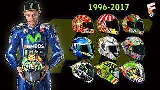 Video Valentino Rossi Helmets Design 1996 - 2017 MP3, 3GP, MP4, WEBM, AVI, FLV November 2017