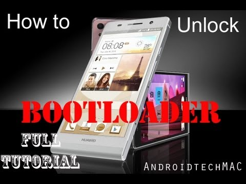 How to Unlock Any Huawei Ascend  Bootloader – Full Tutorial by AndroidTechMAC
