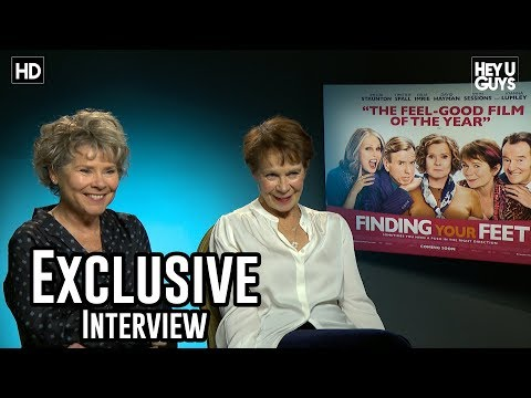 Imelda Staunton & Celia Imrie - Finding Your Feet Exclusive Interview