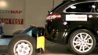 Crash test trasero Peugeot 508 SW