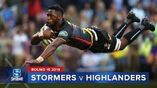 Stormers v Highlanders Rd.15 2019 Super rugby video highlights | Super Rugby Video Highlights