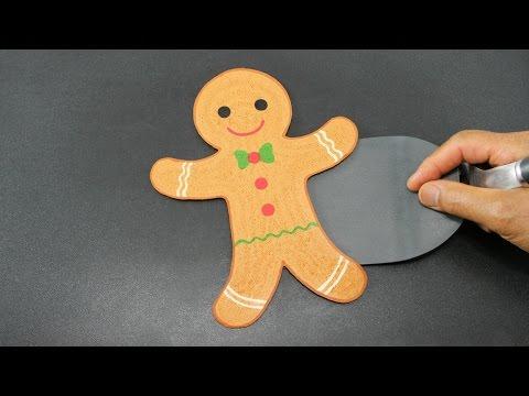 PANCAKE - Christmas Gingerbread Man by Tiger Tomato