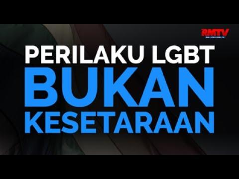 Perilaku LGBT Bukan Kesetaraan