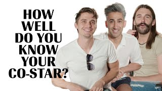 Video The Cast of Queer Eye Play 'How Well Do You Know Your Co-Star' Marie Claire MP3, 3GP, MP4, WEBM, AVI, FLV Mei 2019