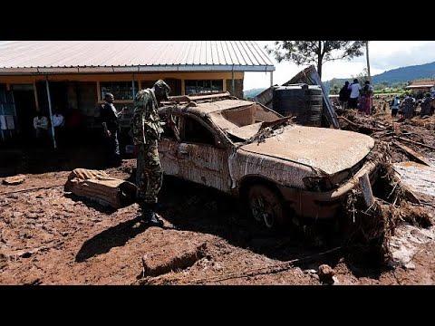 Staudammbruch in Kenia: Suche nach Vermissten