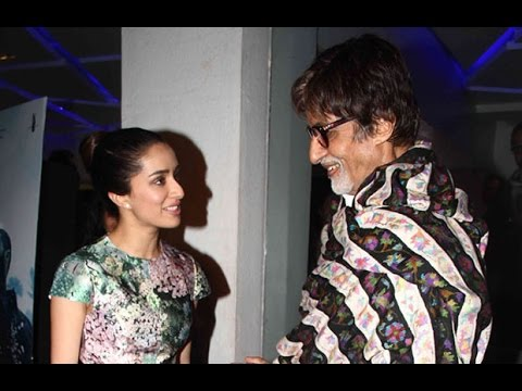 Amitabh Bachchan Helps Fulfill Shraddha Kapoor's D