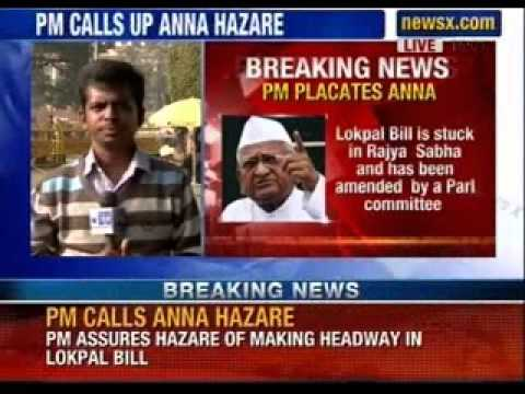minister - Social activist Anna Hazare on Tuesday started his indefinite hunger strike here to press the government for immediate passage of the Jan Lokpal Bill in Parl...
