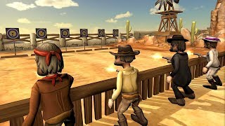 With Westworld Cowboy Bounty Hunter Game get ready for the best cowboy shooting face-off in wild western frontier. Play Westworld Cowboy Bounty Hunter Simulation and sing their own praises your outlaw gun skills. Wear your lid, roll bandanna around neck and mud off your loaded rifle.Google Play link: https://play.google.com/store/apps/details?id=com.was.westworld.cowboy.shooting.simulator3d==========================================► SUBSCRIBE HERE:- https://goo.gl/dkAxut===========================================► FOLLOW ME ON TWITTER:- goo.gl/edgv25► LIKE US ON FACEBOOK:- goo.gl/IPs2wI► CONNECT US ON GOOGLE+:- goo.gl/MuKW3B============================================In Westworld Cowboy Bounty Hunter Gameplay load your revolver gun and find prepared for lawless gang wars in endless shooting game. Begin searching adventures and kill ideal criminals in western duel. Jimmy gunfire may be a bounty hunter and a accepted gun within the western United States city of recent America. Ideal outlaws have taken the city and lives of innocent individual's are at risk. The civilians want an excellent hero to save lots of them from gangsters. The peace officer of the city has employed jimmy to fight against the criminals and take the city back. Harden the last word gang face-off and win this strike war. Saddle the horse and ride towards the harmful western city to kill filthy bandits and wished outlaws.The peace officer of the recent city is facilitate less and want your help. Hunt deadly cowboys around western city and capture them dead or alive. Jimmy may be a famed gun and tough in time of day cowboy duels. Once getting into the city visit firing range and observe shooting on bottles for fantasy war of lords. Visit the saloon bar to rescue civilians and hunt the activity bandits. Remove the deadly cowboy one by one and chase them towards their main hiding place. Harden the ultimate piece of land within the tunnel and fight with the military of skeleton cowboys. An Westworld Cow