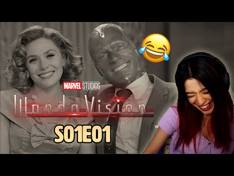 Wandavision was hilarious/confusing & odd, but I LOVED it/S01E01 Reaction/Review/first time watching
