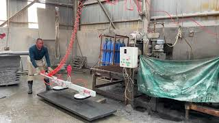 Easy operation widely used stone lifting equipment youtube video