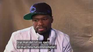 50 Cent interview (from Swedish TV4) - Malou efter tio (TV4)